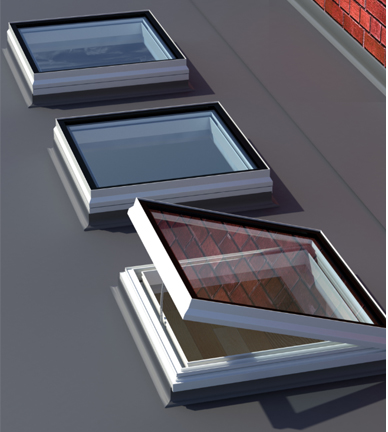 Aluminium roof windows and lanterns enjoy increasing specification